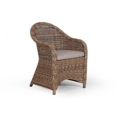 Кресло San Diego 10551-62-23 коричневое