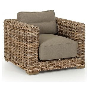 Кресло Eddo 5561-62-23 коричневое