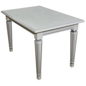 Стол обеденный кухонный Васко 03 раздвижной белый