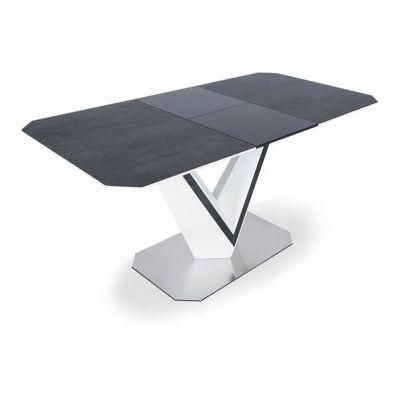 Стол обеденный раздвижной SH-200 GREY-WHITE