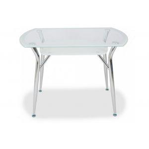 Стол обеденный S605 Super white line