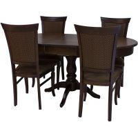 Стол обеденный Leset Вермонт 2Р раздвижной «Орех шок.»