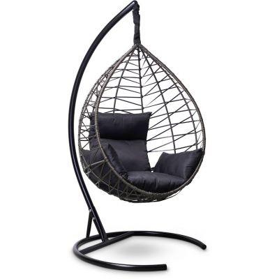 Подвесное кресло Alicante Чёрное/золото