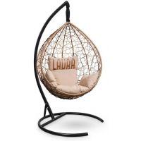 Подвесное кресло SEVILLA Velour Шоколад