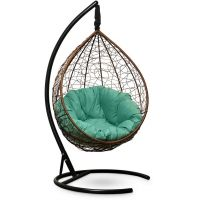 Подвесное кресло SEVILLA Velour Verde Шоколад