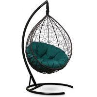 Подвесное кресло SEVILLA Velour Verde Коричневое