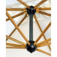 Зонт профессиональный Palladio Braccio слоновая кость