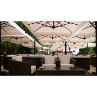 Зонт профессиональный четырехкупольный зонт Alu Poker