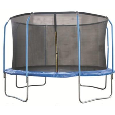 Батут для дачи с сеткой 8 стоек В122 (366 см)