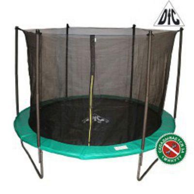Батут с сеткой DFC JUMP Green 6ft (183 см)