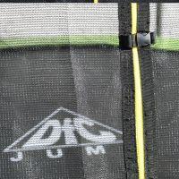 Батут с сеткой DFC JUMP Green 12ft (366 см)
