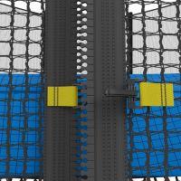 Батут с сеткой UNIX line 12 ft outside Blue (366 см)