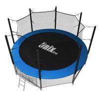 Батут с сеткой UNIX line 14 ft inside Blue (427 см)