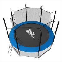 Батут с сеткой Unix Line 6 FT Inside Blue (183 см)