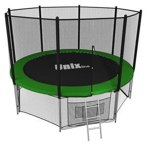 Батут с сеткой Unix Line 10 FT outside Green (305 см)