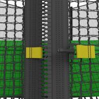 Батут с сеткой UNIX line 14 ft outside Green (427 см)