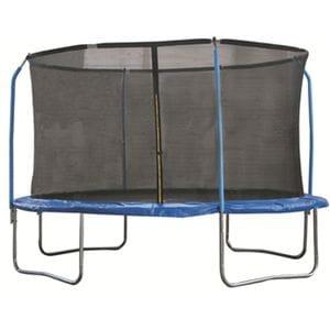 Батут для дачи с сеткой 4 стойки В101 (305 см)