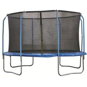 Батут для дачи с сеткой 8 стоек В102 (305 см)