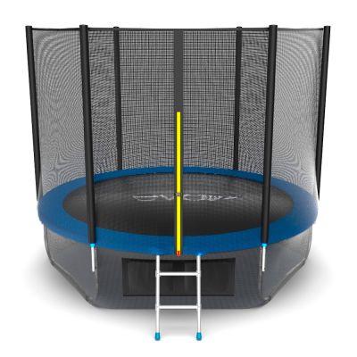 Батут EVO JUMP External 10ft (Blue) с нижней сеткой