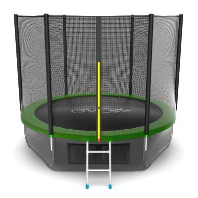 Батут EVO JUMP External 10ft (Green) с нижней сеткой