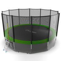Батут EVO JUMP External 16ft (Green) с нижней сеткой