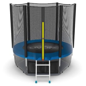 Батут EVO JUMP External 6ft (Blue) с нижней сеткой