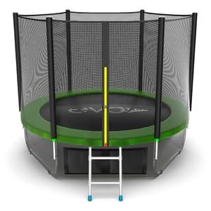 Батут EVO JUMP External 8ft (Green) с нижней сеткой