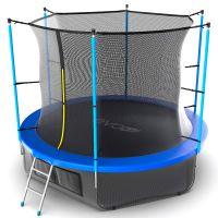 Батут EVO JUMP Internal 10ft (Blue) с нижней сеткой