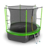 Батут EVO JUMP Internal 10ft (Green) с нижней сеткой