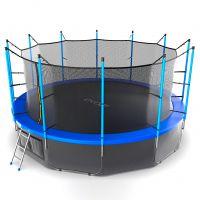 Батут EVO JUMP Internal 16ft (Blue) с нижней сеткой