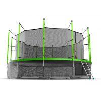 Батут EVO JUMP Internal 16ft (Green) с нижней сеткой