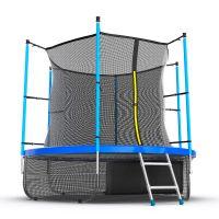 Батут EVO JUMP Internal 8ft (Blue) с нижней сеткой