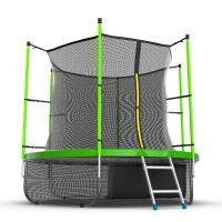 Батут EVO JUMP Internal 8ft (Green) с нижней сеткой
