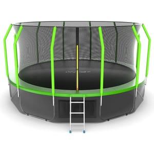 Батут EVO JUMP Cosmo 16ft (Green) с нижней сеткой