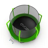Батут EVO JUMP Cosmo 6ft (Green) с нижней сеткой