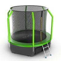 Батут EVO JUMP Cosmo 8ft (Green) с нижней сеткой