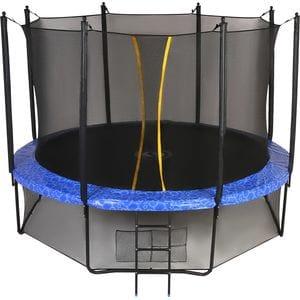 Батут с сеткой Swollen Classic 14 FT Blue (427 см)