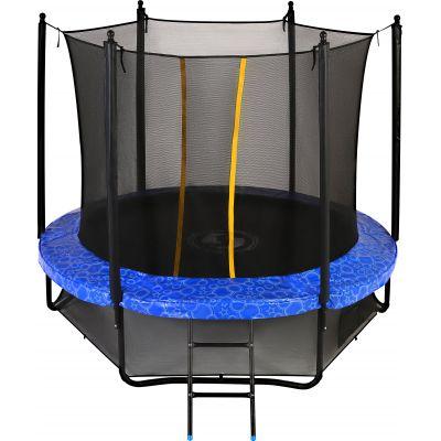 Батут с сеткой Swollen Classic 8 FT Blue (244 см)