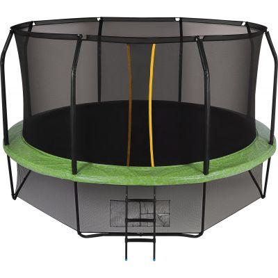 Батут с сеткой Swollen Prime 14 FT Green (427 см)
