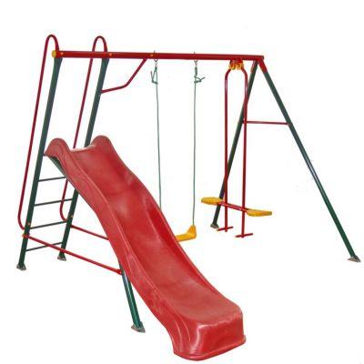Детские качели для дачи уличные (спортивный комплекс) Солнышко-5