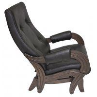 Кресло-качалка глайдер Модель 708 экокожа и ткань