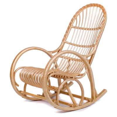 Кресло-качалка Белая Ива (ивовая лоза)