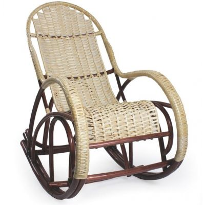 Кресло-качалка плетёное Красавица