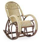 Кресло-качалка плетёное Красавица Люкс