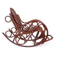 Кресло-качалка из ротанга Novo