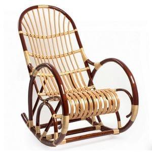 Кресло-качалка плетёное Верба