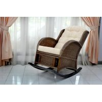 Кресло-качалка из ротанга Wing R
