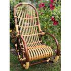 Кресло-качалка из лозы Ива