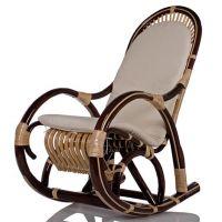 Кресло-качалка из лозы Медведь