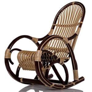 Кресло-качалка плетёное Медведь
